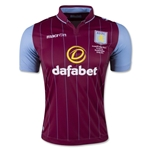 Aston Villa 14/15 FA Cup Final Home Soccer Jersey