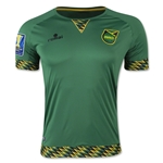 Jamaica 2015 Away Soccer Jersey w/ Gold Cup Patch