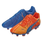Puma evoPower 3 H2H FG (Orange Clownfish/Electric Blue Lemonade)