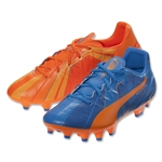 Puma evoSpeed 4.4 H2H FG JR (Orange Clownfish/Electric Blue Lemonade)