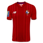 Panama 2015 Home Soccer Jersey w/ Gold Cup Patch
