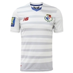 Panama 2015 Away Soccer Jersey w/ Gold Cup Patch