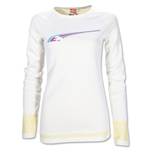 PUMA Women's Performance Reversible Long Sleeve T-Shirt (White)