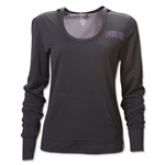 PUMA Women's Long Sleeve Hoody Coverup (Black)