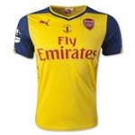 Arsenal 14/15 FA Cup Final Away Soccer Jersey