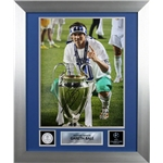 Icons Gareth Bale Signed Framed Real Madrid Photo UCL Trophy