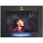 Icons UEFA Champions League Neymar Jr. Signed Photo Deluxe
