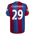 Crystal Palace 15/16 CHAMAKH Home Soccer Jersey