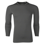 adidas Base TechFit Long Sleeve T-Shirt (Gray)
