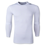 adidas Base TechFit Long Sleeve T-Shirt (White)