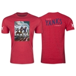American Outlaws Yanks Marching T-Shirt (Heather Red)