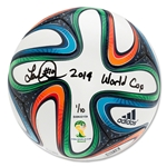 Upper Deck Landon Donovan Autographed & Inscribed adidas Brazuca 2014 FIFA World Cup(TM) Match