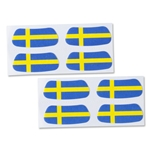 Sweden Flag Eyeblacks 4 Pair