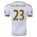 Swansea City 15/16 SIGURDSSON Home Soccer Jersey