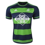 Swansea City 15/16 Away Soccer Jersey