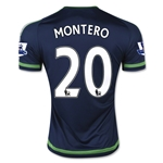 Swansea City 15/16 MONTERO Away Soccer Jersey