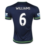 Swansea City 15/16 WILLIAMS Away Soccer Jersey