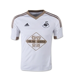Swansea City 15/16 Youth Home Soccer Jersey