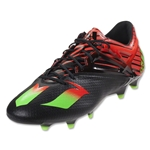adidas Messi 15.1 FG/AG (Black/Solar Green/Solar Red)