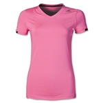 adidas TechFit Women's T-Shirt (Pink)