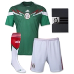 Mexico 2014 Uniforme de Futbol Local adfizero
