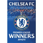 Chelsea 14/15 EPL Champions Poster