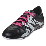 adidas X 15.3 TF Leather (Black/Shock Pink)