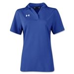 Under Armour Women's Performance Polo (Royal Blue)