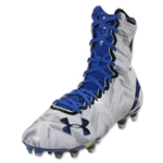 Under Armour LAX Highlight MC Cleat (White/Team Royal)