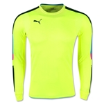 PUMA Tournament Goalkeeper Jersey (Neon Yellow)