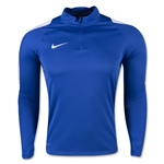 Nike US Squad 16 Drill Top (Royal Blue)