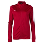 Nike US Women's Squad 16 Knit Track Jacket (Red)