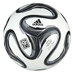 adidas 2014 MLS Top Training NFHS Soccer Ball (White/Black/Night Shade)