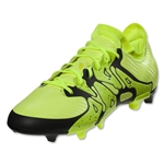 adidas X 15.1 FG/AG Junior (Solar Yellow/Black)
