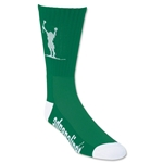 Adrenaline Carlsons Socks (Green/Wht)