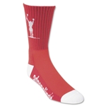 Carlsons Lacrosse Socks (Red)