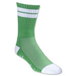 Adrenaline J Train Socks (Green/Wht)