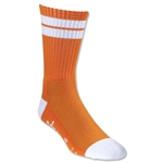 Adrenaline J Train Socks (Org/Wht)
