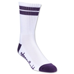 Adrenaline J Train Socks (Wh/Pu)
