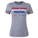 USWNT Unstoppable Together Slogan Women's T-Shirt