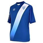 Guatemala 2015 Away Soccer Jersey w/ Gold Cup Patch