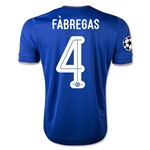 Chelsea 15/16 FABREGAS UCL Home Soccer Jersey