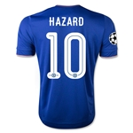 Chelsea 15/16 HAZARD UCL Home Soccer Jersey