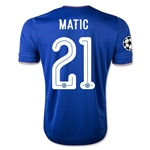 Chelsea 15/16 MATIC UCL Home Soccer Jersey