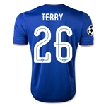 Chelsea 15/16 TERRY UCL Home Soccer Jersey