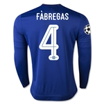 Chelsea 15/16 FABREGAS LS UCL Home Soccer Jersey