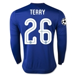 Chelsea 15/16 TERRY LS UCL Home Soccer Jersey