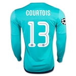 Chelsea 15/16 COURTOIS LS UCL Goalkeeper Jersey