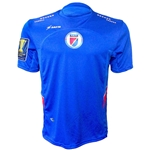 Haiti 2015 Home Soccer Jersey w/ Gold Cup Patch