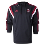 AC Milan Hooded Sweat Top